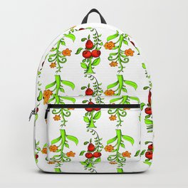 bright trees and fruits Backpack