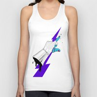 master chief Tank Tops featuring Space Chief by Dzohn