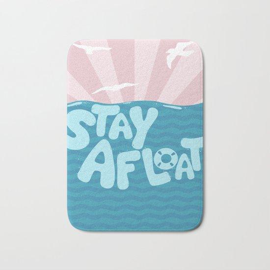 ST\Y AFLOAT Bath Mat