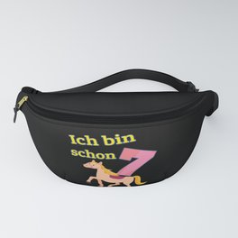 7 Year Birthday Horse Ride Gift Fanny Pack