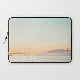 Pastel Golden Gate Laptop Sleeve