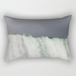 Top of Niagra Falls Rectangular Pillow