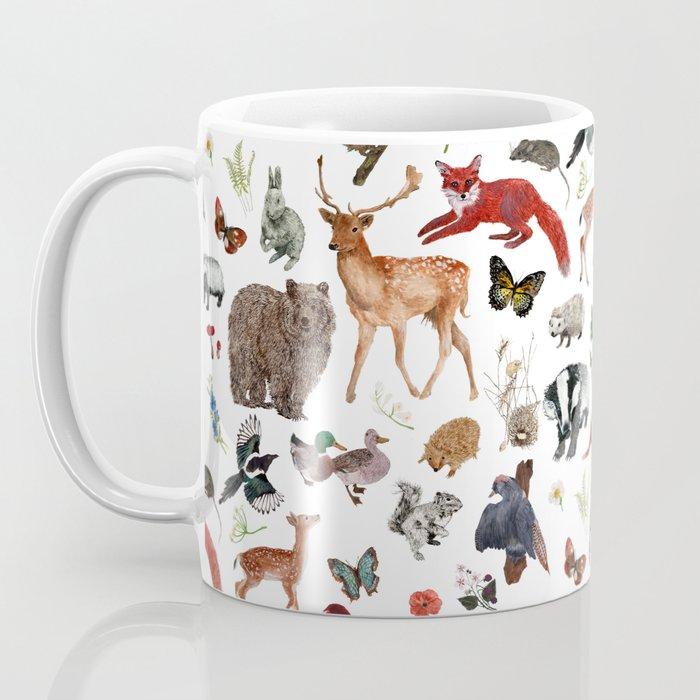Wild Woodland Animals Coffee Mug