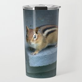 Chip on the Block: Adirondack Chipmunk Travel Mug