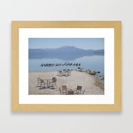 Greek Beauty Framed Art Print