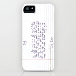 The Story of Billy Who Could Move Things With His Mind iPhone Case