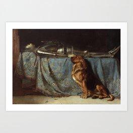Requiescat by Briton Riviere Art Print