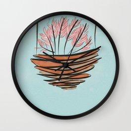 japanese cherry blossom Wall Clock