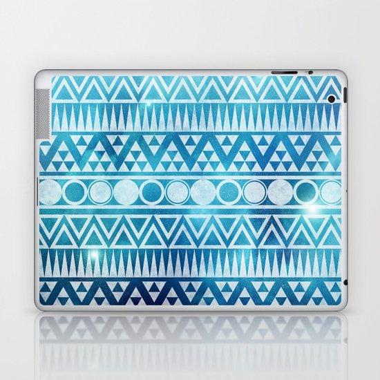 Tribal Ice Laptop & iPad Skin
