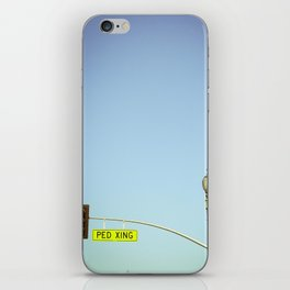 Ped Xing iPhone Skin