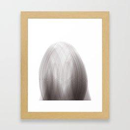 Algorithmic Portrait: Liza Framed Art Print