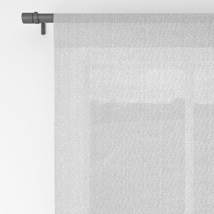 Tiger - Black & White Sheer Curtain