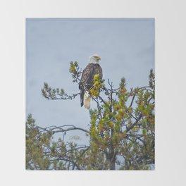 October Eagle Throw Blanket