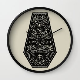 Death is Defeated (Alternate) Wall Clock