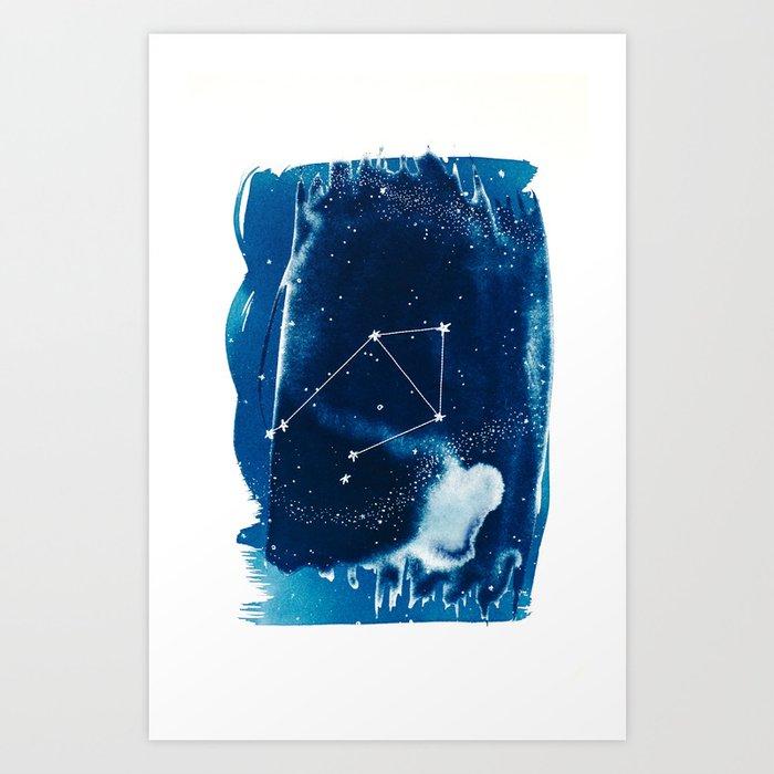 Libra Zodiac Print Art Print