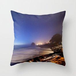Neskowin, Oregon Throw Pillow