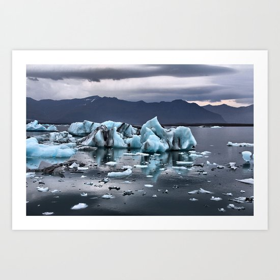 Glacial Dreams Art Print