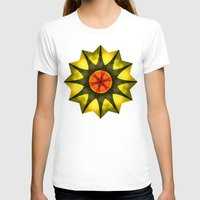 polygon T-shirts featuring Star polygon by LudaNayvelt