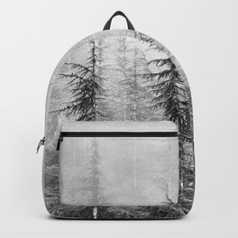 """""""Wilderness"""". Into the foggy mountains Backpack"""