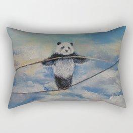 Panda Tightrope Rectangular Pillow
