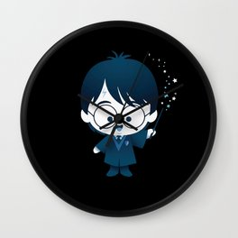 Blue Harry James Potter Wall Clock