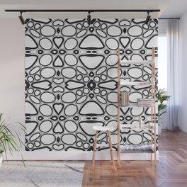 fancy grid Wall Mural