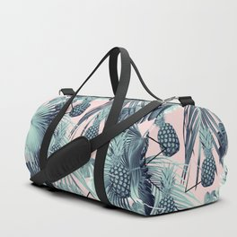 Tropical Pineapple Jungle Geo #2 #tropical #summer #decor #art #society6 Duffle Bag