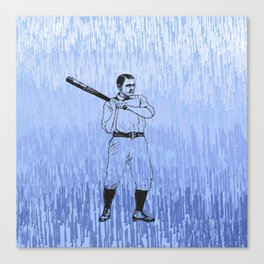 Baseball-The Boys of Summer   Canvas Print