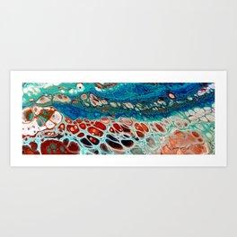 Cells flow Art Print