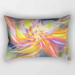 Fractal Flower Rectangular Pillow