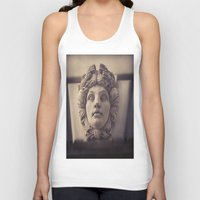 no face Tank Tops featuring Face by Blue Lightning Creative