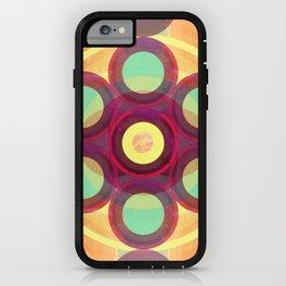 Star Flower Mandala iPhone Case