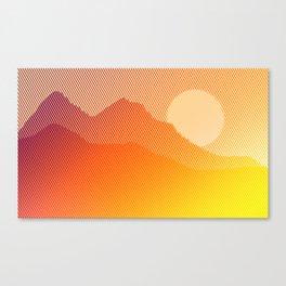 Adiós Amigos Canvas Print