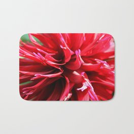 Crimson Red Bath Mat