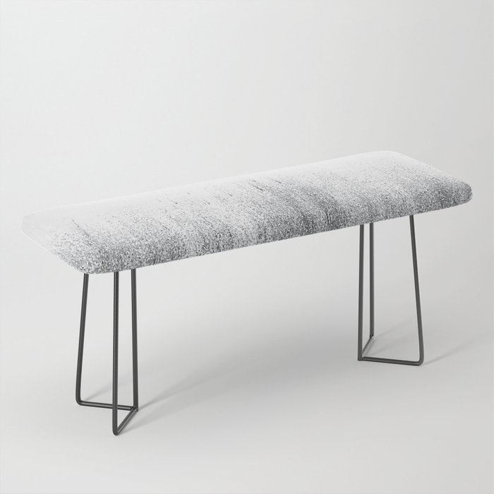 Charcoal Ombré Bench