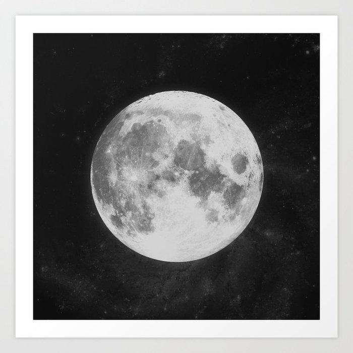 The Moon Kunstdrucke