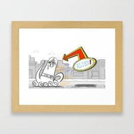 Alien FOP  Framed Art Print