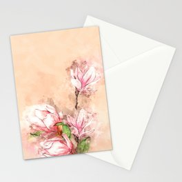 Buds Beauty #watercolor #floral Stationery Cards