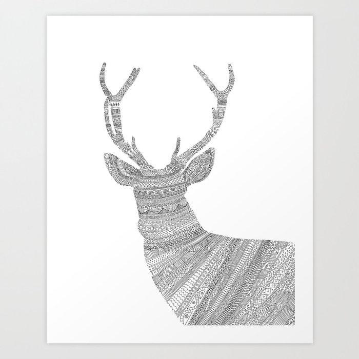 Stag / Deer Art Print