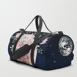 succulent night light Duffle Bag