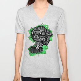 New World Rising - A Book Unisex V-Neck