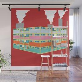 pastel industry Wall Mural