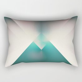 New Dawn Road Rectangular Pillow