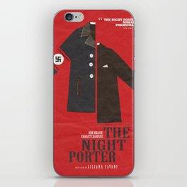The Night Porter, movie poster, Liliana Cavani, Charlotte Rampling, Dirk Bogarde iPhone Skin