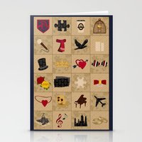 klaine Stationery Cards featuring I Still Believe in Klaine (Patchwork Love Quilt) by OldCoyote