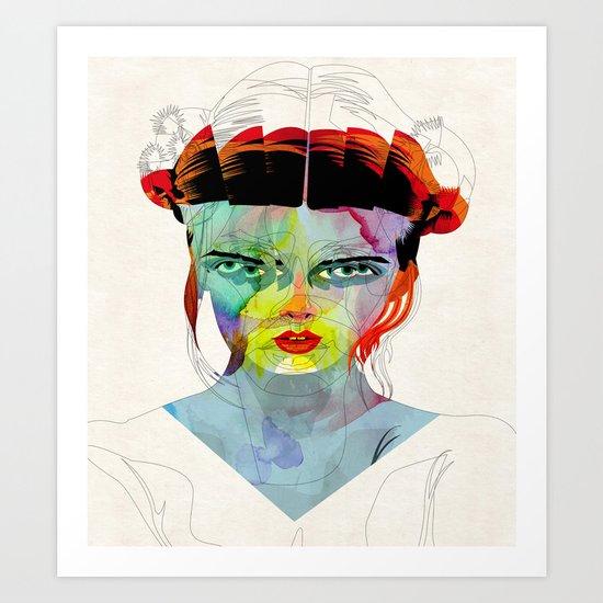 girl_190712 Art Print