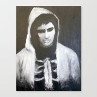 donnie darko Canvas Prints featuring Donnie Darko by Alexandra Booten