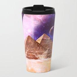 Galaxy Pyramids Travel Mug