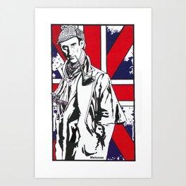 Hail Britannia /  Private Detective by Peter Melonas Art Print