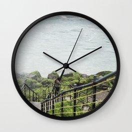 Halfway Up Wall Clock